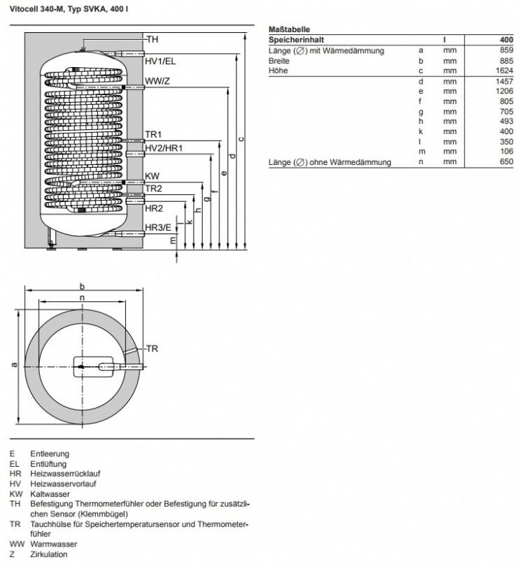 VIESSMANN Vitocell 340-M - Haustechnik Jüdenberg